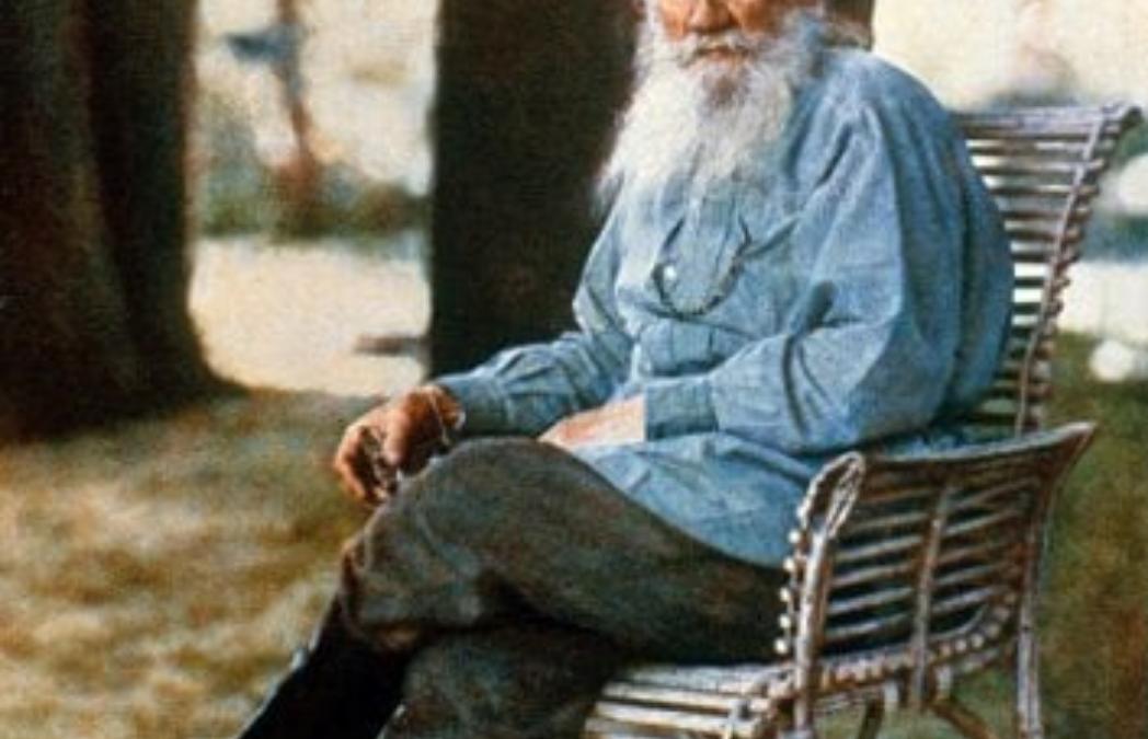 Tolstoi y las fotos de color antes del color