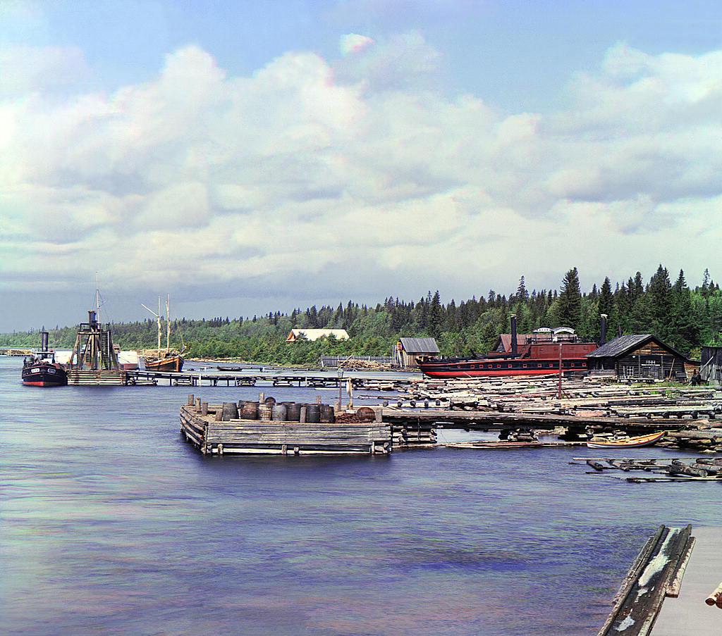 Astillero en Kareshka