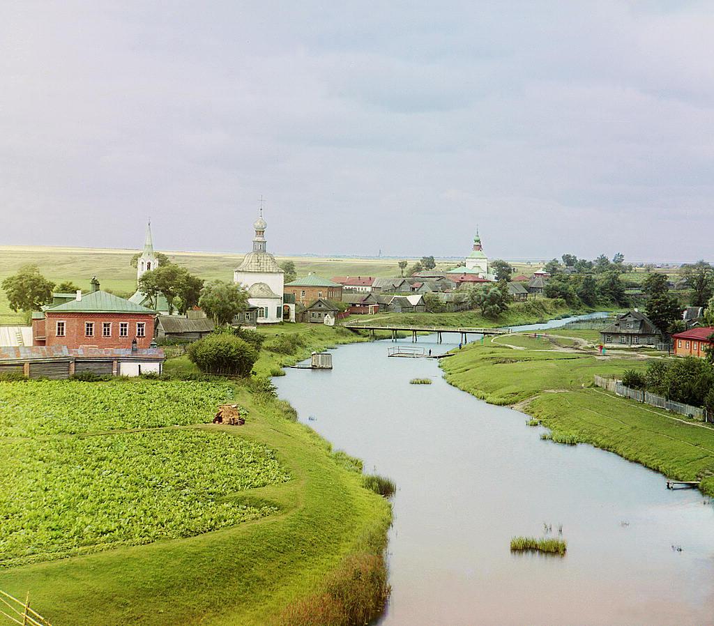 Río Kamenka en Suzdal