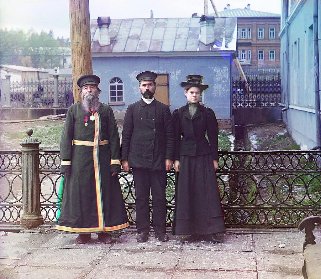 Tres generaciones en el pueblo de Zlatoust
