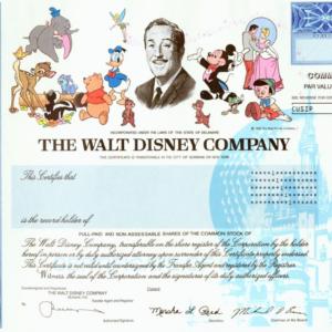 Disney certificado de acciones - 1048x1048